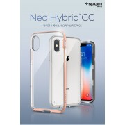 Original Spigen Neo Hybrid Crystal Case for Apple iPhone X
