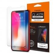 Original Spigen Glas.tR Slim HD Premium Tempered Glass for Apple iPhone X